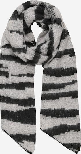 PIECES Écharpe 'PYRON' en gris clair / noir, Vue avec produit