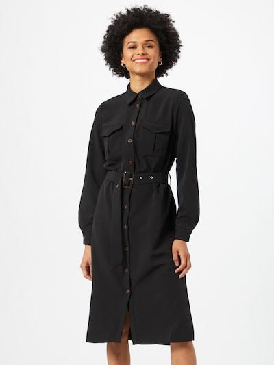 OBJECT Blusenkleid 'MAJSA' in schwarz, Modelansicht