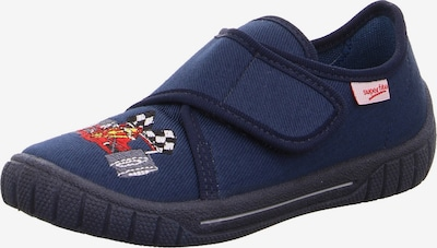 SUPERFIT Huisschoenen 'BILL' in de kleur Donkerblauw / Gemengde kleuren, Productweergave