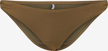PIECES Bikinihose 'Groa' in Brown