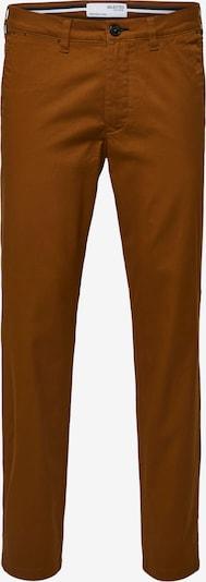 SELECTED HOMME Lærredsbukser 'Miles' i karamel, Produktvisning