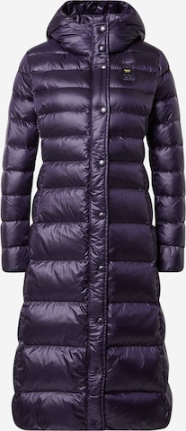 mėlyna Blauer.USA Žieminis paltas