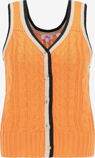 MYMO Weste in orange / schwarz / weiß, Produktansicht