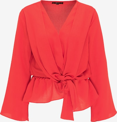 faina Bluse in rot, Produktansicht