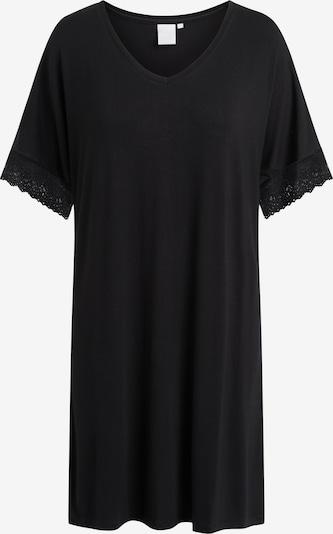 CCDK Copenhagen Nachthemd 'Lucille Black' in schwarz, Produktansicht