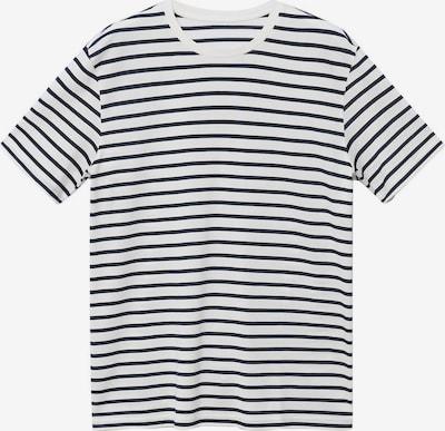 MANGO MAN T-Shirt 'JAMES' in dunkelblau / weiß, Produktansicht