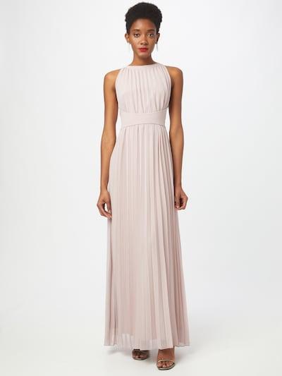 APART Abendkleid aus plissiertem Chiffon in mauve, Modelansicht