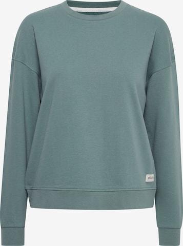 Oxmo Sweatshirt 'GRYNET' in Green