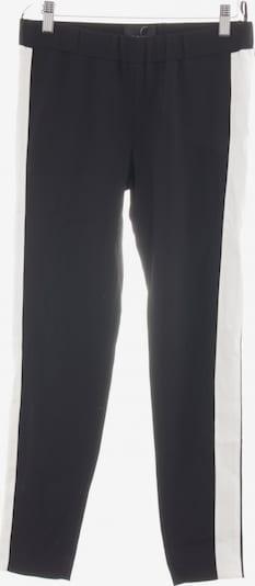 Atos Lombardini Stretchhose in S in schwarz / weiß, Produktansicht