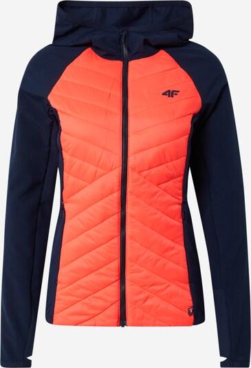4F Zunanja jakna | temno modra / korala barva, Prikaz izdelka