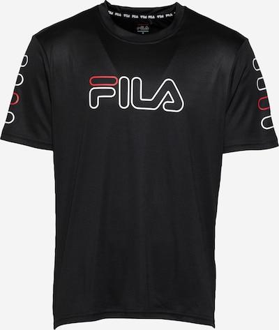 FILA Camiseta funcional 'ERMIN' en rojo / negro / blanco, Vista del producto