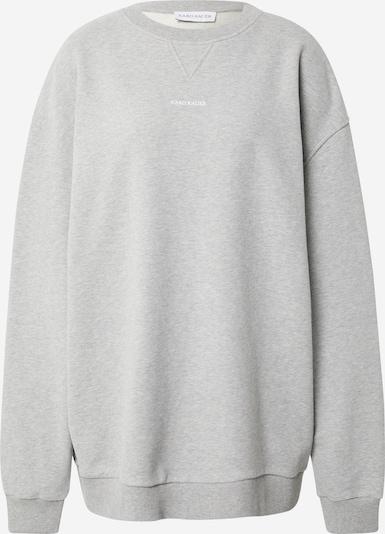 Karo Kauer Sweat-shirt en gris chiné, Vue avec produit