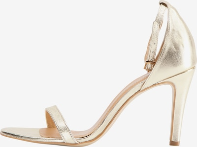 faina faina High-Heel-Sandalette in gold, Produktansicht