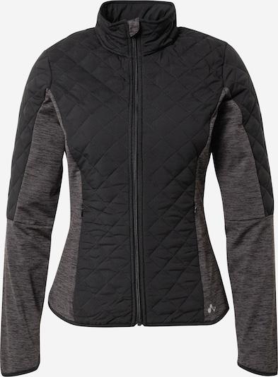 ONLY PLAY Veste de sport 'Fiori' en gris chiné / noir, Vue avec produit