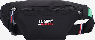Tommy Jeans Jostas soma, krāsa - zaļš / sarkans / melns / balts, Preces skats
