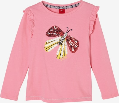 s.Oliver Langarmshirt in rosa, Produktansicht