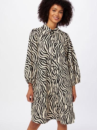 Rochie tip bluză 'Eleina' Part Two pe gri / negru, Vizualizare model