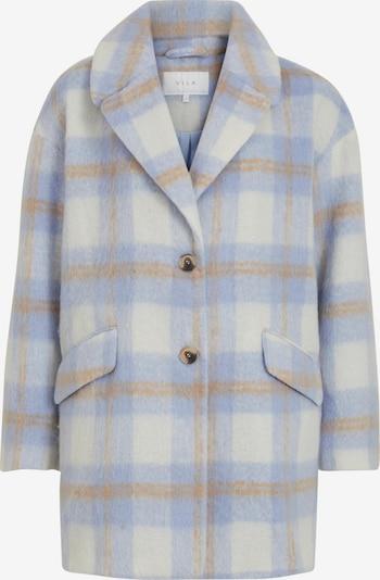VILA Manteau mi-saison 'Alissi' en beige / bleu / noisette, Vue avec produit