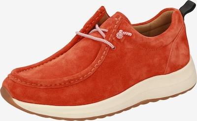 SIOUX Schnürschuh in orangerot, Produktansicht