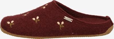 Living Kitzbühel Huisschoenen in de kleur Beige / Rood, Productweergave