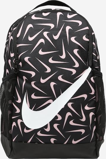 Nike Sportswear Rucksack 'Brasilia' in rosa / schwarz / weiß, Produktansicht