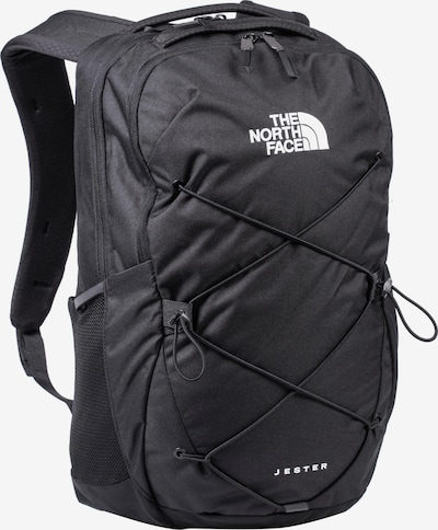 THE NORTH FACE Sportrugzak 'Jester' in de kleur Zwart / Wit, Productweergave
