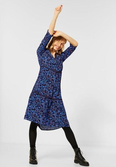 CECIL Kleid in blau / pink, Modelansicht