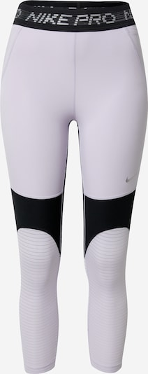 NIKE Pantalon de sport en rose clair / noir, Vue avec produit
