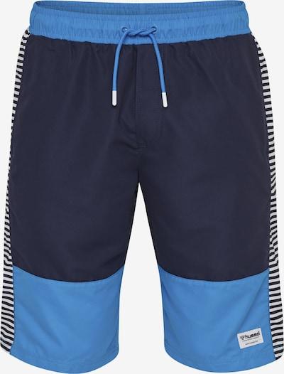 Hummel Badeshorts in blau / navy, Produktansicht