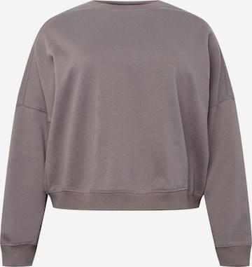 Cotton On Curve Sweatshirt i grå