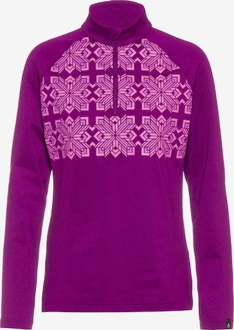 ODLO Performance Shirt 'Pazola Ribbon' in Purple