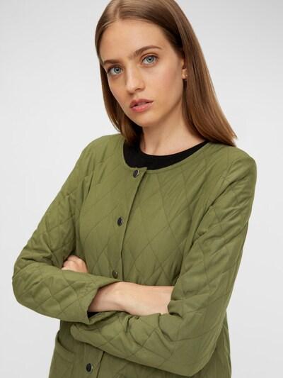 PIECES Mantel in oliv, Modelansicht