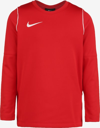 NIKE Funktionsshirt 'Park 20' in rot / offwhite, Produktansicht