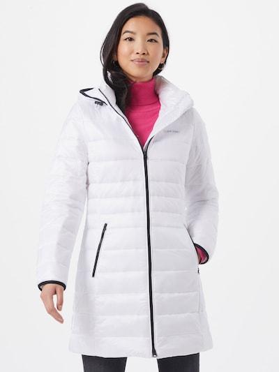 Calvin Klein Mantel in weiß, Modelansicht