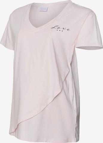 MAMALICIOUS Pidžaama 'MLFIA JUNE', värv roosa