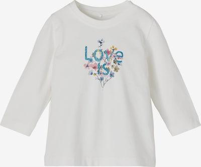 NAME IT Camiseta 'Tora' en azul cielo / azul oscuro / oliva / rosé / offwhite, Vista del producto