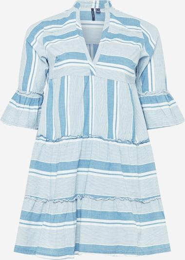 Vero Moda Curve Blousejurk 'AKELA' in de kleur Lichtblauw / Wit, Productweergave