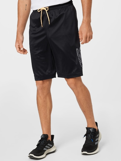 ADIDAS PERFORMANCE Športové nohavice - čierna / biela, Model/-ka