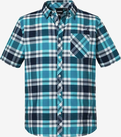 Schöffel Athletic Button Up Shirt in Turquoise / Black / White, Item view