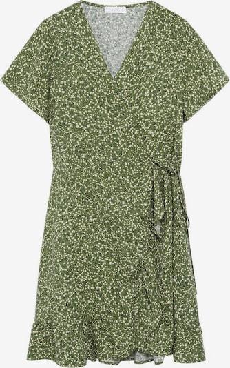 MANGO KIDS Kleid in grün / weiß, Produktansicht