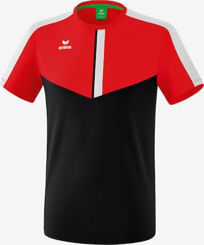 ERIMA T-Shirt in rot / schwarz, Produktansicht