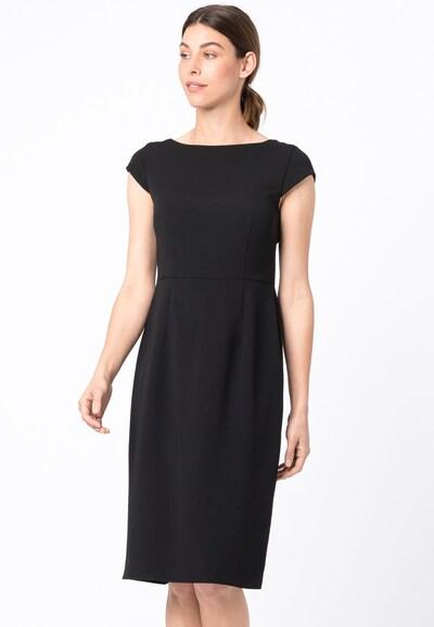 HALLHUBER Etuikleid in schwarz, Modelansicht