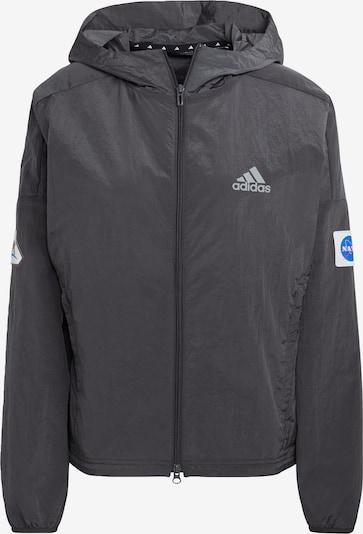 ADIDAS PERFORMANCE Športová bunda - sivá / biela, Produkt