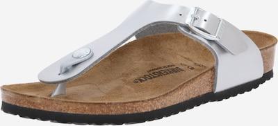 BIRKENSTOCK Sandaalit 'Gizeh' värissä hopea, Tuotenäkymä