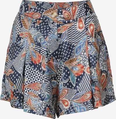 Usha Shorts in nachtblau / mischfarben, Produktansicht