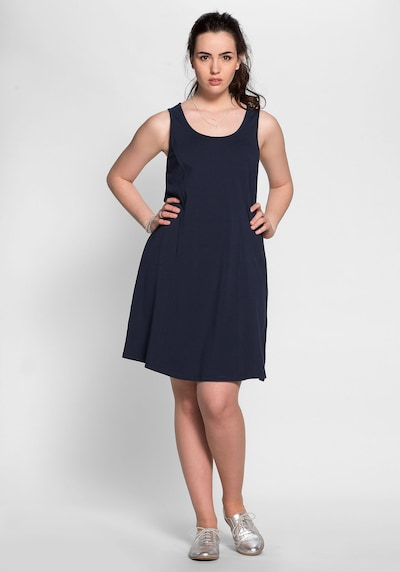 SHEEGO Kleid in marine, Modelansicht