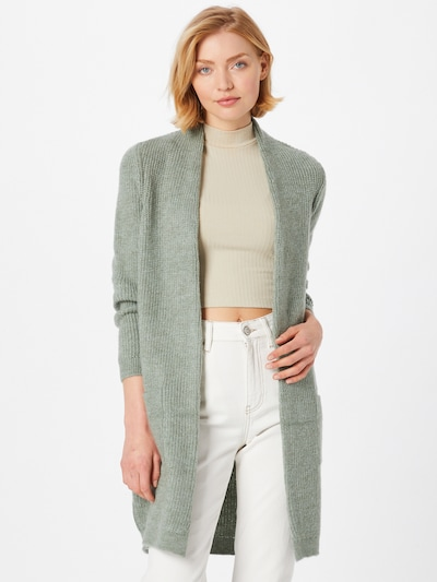 ONLY Knit Cardigan 'JADE' in Light green, View model