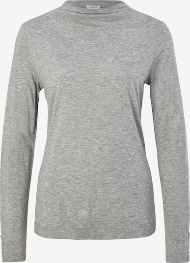 s.Oliver BLACK LABEL Shirt in de kleur Lichtgrijs, Productweergave
