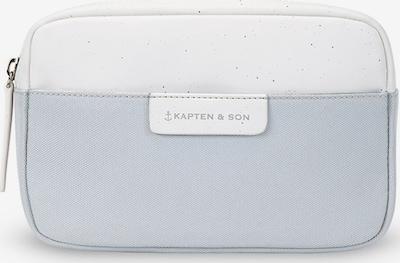 Kapten & Son Torba na pasek w kolorze jasnoniebieski / szary / białym, Podgląd produktu
