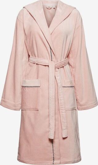 ESPRIT Badjas kort in de kleur Rosa / Zwart, Productweergave